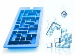 Forminhas de Gelo em formato de Tetris