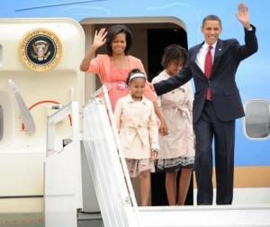 Marca usa filhas de Obama