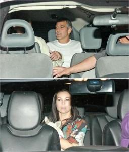 George Clooney está saindo com atriz italiana.