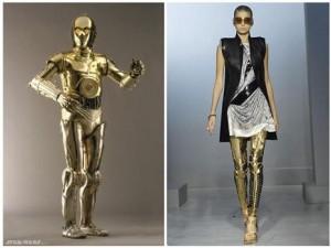 Moda inspirada em ficção científica