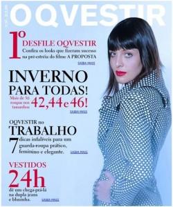 Revista de moda interativa