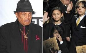 Pai de Michael Jackson aposta na carreira dos netos.