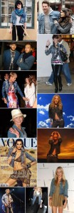 Ale Farah está de volta. E assim como ela, a jaqueta jeans também.