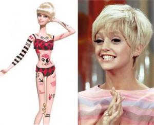 Barbie lança boneca inspirada na atriz Goldie Hawn.