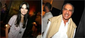 Cris Barros e Toninho Abdalla: jantar