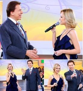 Eliana vai ao programa de Silvio Santos.