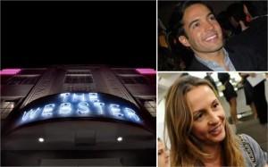 Amalia Spinardi e Daniel Urzedo comandam jantar na The Webster, em Miami.