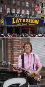 Paul McCartney faz show em Nova York