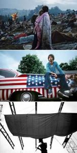 Exposição em homenagem aos 40 anos do festival de Woodstock