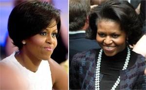 Michelle Obama corta o cabelo e fica muito mais sofisticada.