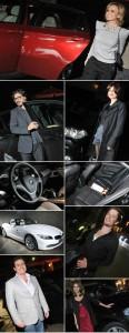 Vips recebem tratamento de luxo da BMW.