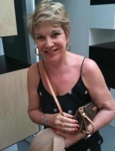 Marta Suplicy passou pela Bienal de Veneza nesta manhã.