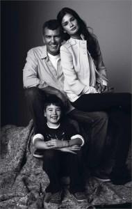 Edição deste mês da Revista I traz pais famosos e seus filhos.