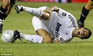 Cristiano Ronaldo faz seguro milionário das próprias pernas!