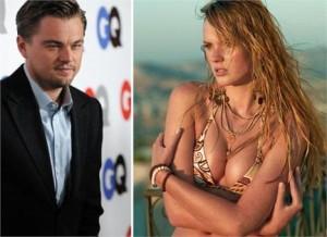 Leonardo DiCaprio estaria conhecendo melhor a modelo russa Anne V. Será que dá namoro?