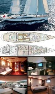 Rupert Murdoch não precisa, mas resolveu alugar seu veleiro a quem tiver interesse. Interessou, glamurette?