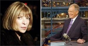 Anna Wintour é uma das próximas convidadas a sentar no sofá de David Letterman.