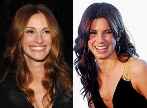 Julia Roberts é substituída por Sandra Bullock em filme.