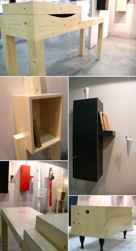 Estudio Manus acaba de lançar uma linha de móveis, além dos já conhecidos objetos da loja.