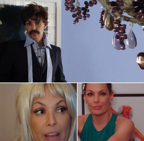 Três vezes Carolina Ferraz: curtas-metragens na internet