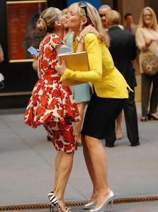 A amizade de Sarah Jessica Parker e Kim Cattrall está abalada.