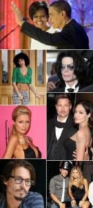 """Revista """"Parade"""" faz eleição diferente sobre famosos de Hollywood."""