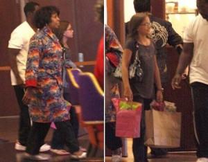Filhos de Michael Jackson passam o fim de semana.