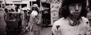 Flavia Lafer resgata as imagens de Marianne Faithfull e Mick Jagger.