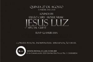 Jesus Luz é quem comanda a noite inaugural de Royal Delux, que começa nesta quinta-feira.