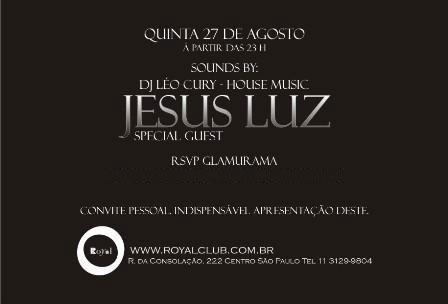Royal Delux: Glamurama convida