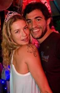 Luana Piovani comemora aniversário em Salvador.