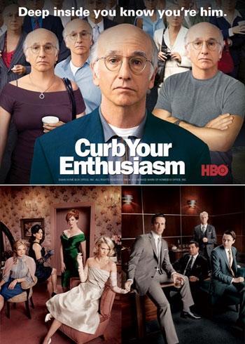 """""""Mad Men"""" e """"Curb Your Enthusiasm"""": séries queridinhas dos norte-americanos"""