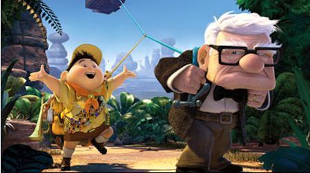 """O grande destaque no Cinemark Iguatemi é a estréia de """"Up"""", o primeiro filme em 3D da Pixar."""