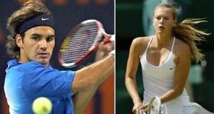 US Open tem Roger Federer  e Maria Sharapova neste sábado.