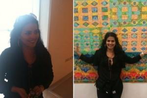 Thereza Collor visita a 53ª Bienal de Veneza neste sábado com o marido, Gustavo Halbreich.