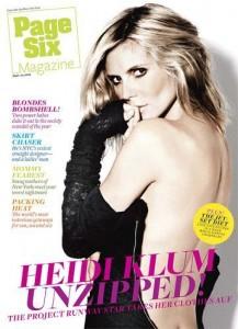 Heidi Klum responde críticas de Karl Lagerfeld.