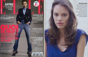 """Laura Neiva é citada pela """"Elle"""" francesa como promessa do cinema."""