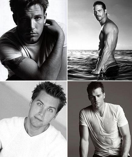 Ben Affleck, Paul Walker, Lance Bass e Tom Brady: os favoritos