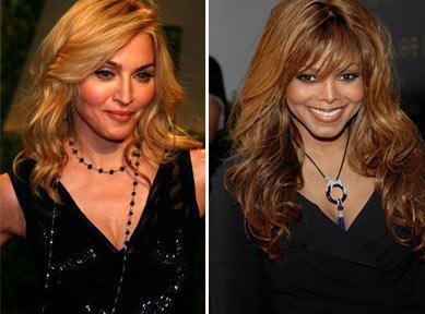 Madonna e Janet Jackson: parceria