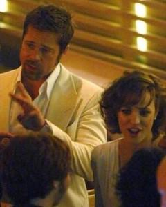 Angelina Jolie está com ciúmes de Rachel McAdams.