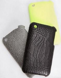 A Urban Outfitters criou capinhas estilizadas para os I-Phones que circulam por aí.