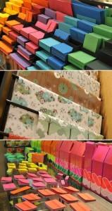 Qualidade, humor, modelos e padronagens exclusivas são o ponto forte da Papel Craft, uma verdadeira boutique de papel.