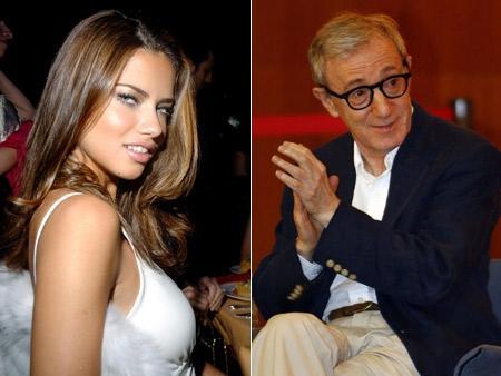 Adriana Lima, a suposta nova musa de Woody Allen