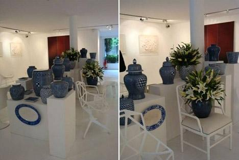 Marcelo Felmanas reuniu uma turma de amigos e convidados nessa terça-feira para apresentar a nova coleção da 6F Decoração, a Blue and Me.