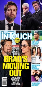 Mais uma vez, os burburinhos dão conta de que o casamento de Angelina Jolie e Brad Pitt está com os dias contados.