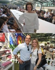 Gerente geral do Iguatemi, Sandro Fernandes se uniu à empresária Ana Cury, idealizadora do Fashion Weekend Kids, para mais uma edição do evento aqui no shopping paulistano.