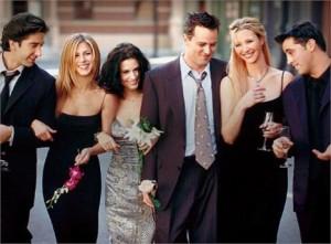 """Agora é pra valer! Depois de dez temporadas juntos e uma lacuna de cinco anos fora das telinhas, """"Friends"""" vai virar filme."""