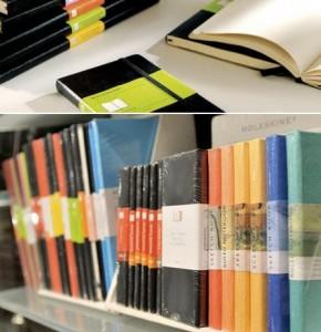 Para quem não sabe, os Moleskines são cadernos que foram usados por diversos artistas e pensadores famosos como Van Gogh, Picasso e Hemingway.