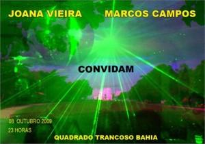 Marcos Campos e Joana Vieira já dispararam os convites para um agito de aniversário no dia 8, em Trancoso, antes do casamento de Sabrina Gasperin e Ara Vartanian.
