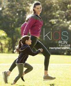 Ainda dá tempo de inscrever o seu filhote na 3ª edição da Kids Run. A corrida mais fofa do ano acontecerá dia 4 de outubro no estacionamento externo do shopping (Boulevard) e tem como objetivo incentivar a prática do esporte, reunindo atletas mirins em um